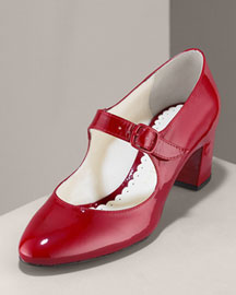 Bettye Muller Patent Mary Jane