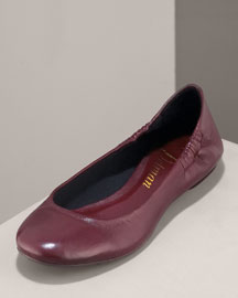 Delman Leather Flat
