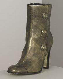 Juicy Couture            Jem Metallic Short Boot-  Designer-Neiman Marcus