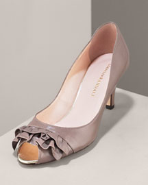 Loeffler Randall Ruffle Pump -  Pumps -  Neiman Marcus :  pumps designer shoes accessories