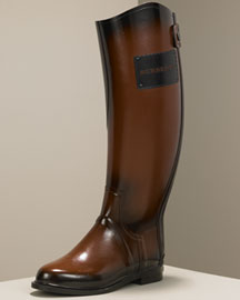 Burberry Rubber Riding Boot