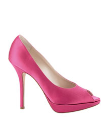 Dior Miss Dior Platform Pump -  Bright Colors -  Neiman Marcus :  miss chloe summer blahnik