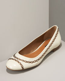 Theory Chainlink Patent Flat