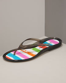 Kate Spade jamaica jelly thong sandal -  Shoes -  Neiman Marcus :  designer clothes shoes accessories colors
