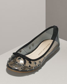 MARC by Marc Jacobs Jeweled Vinyl Flat