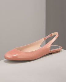 MARC by Marc Jacobs Glitter Patent Flat