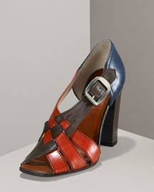 MARC by Marc Jacobs Color-Block d'Orsay Sandal