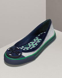 Tory Burch CHANNING SPORT FLAT -  Shoes -  Neiman Marcus