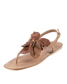Miu Miu Floral Flat Thong Sandal -  Accessories -  Neiman Marcus :  floral thing vintage womens shoes