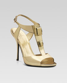 Gucci Grace High Heel Sandal -  Accessories -  Neiman Marcus :  apparel womens apparel open toe different