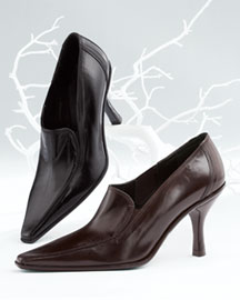 Donald J Pliner Leather Bootie