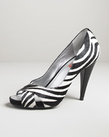 Kors Michael Kors Wiley Zebra Pump -  Kors Michael Kors -  Neiman Marcus :  michael kors womens shoes accessories