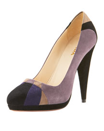 Prada Art Deco Pump