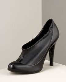 Stella McCartney            Pull-On Ankle Bootie -   		Shoes & Handbags - 	Neiman Marcus :  elastic inset ankle pull-on faux leather