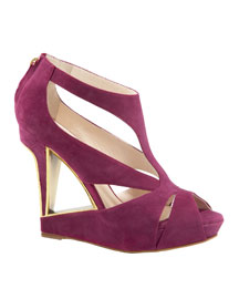 Dior Cutout Wedge Sandal- Shoe & Handbag Fall Trends- Neiman Marcus