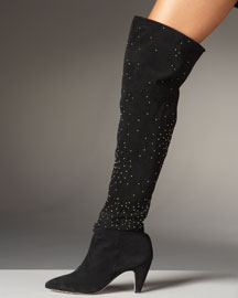Fall/Winter Boot Trends: Dolce Vita Studded OTK Boot