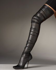 Neiman Marcus�-�Shoes & Handbags - Over the Knee Boots