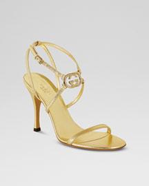 Gucci Britt High-Heel Sandal