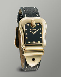 Fendi B. Fendi Watch, Large Black  -  Watches -  Neiman Marcus :  fashion accessory designer fashion jewelry watches