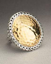 John Hardy            Palu Large Round Ring-  Palu-Neiman Marcus