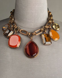 Stephen Dweck Multi-Stone Dangle Necklace -  Gemstones -  Neiman Marcus