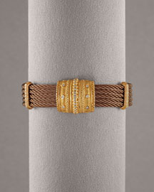 Charriol            Celtique Five-Cable Diamond Bracelet -   Neiman Marcus from neimanmarcus.com