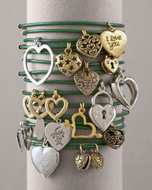 Lucky Charm Bracelets, Green -   Neiman Marcus from neimanmarcus.com