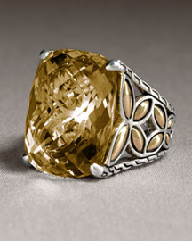 John Hardy Batu Kawung Quartz Ring -  Jewelry -  Neiman Marcus :  ring different gift ideas gold