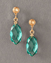 Dominique Cohen Topaz Drop Earrings -  Earrings -  Neiman Marcus :  fashion accessory fashion accessories designer jewelry