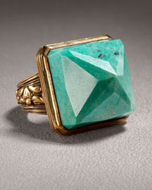 Stephen Dweck Turquoise Ring -  Gemstones -  Neiman Marcus