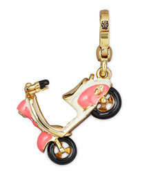 Juicy Couture            Dolce Vita Scooter Charm -   		New Arrivals - 	Neiman Marcus :  yellow gold plate yellow gold white gold plated