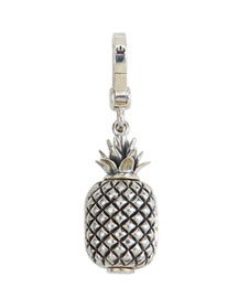 Sterling Silver Pineapple Charm -   		New Arrivals - 	Neiman Marcus :  signature crown engraving lobster clasp sterling engraving
