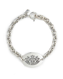 Juicy Couture            Sterling Silver ID Bracelet -   		New Arrivals - 	Neiman Marcus