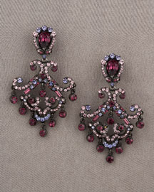 Jose & Maria Barrera Crystal Earrings -  New Arrivals -  Neiman Marcus :  jewelry earrings fashion accessory fashion accessories