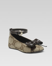 Gucci Baby Shoe -  Gucci -  Neiman Marcus :  boties dresses dressy urban