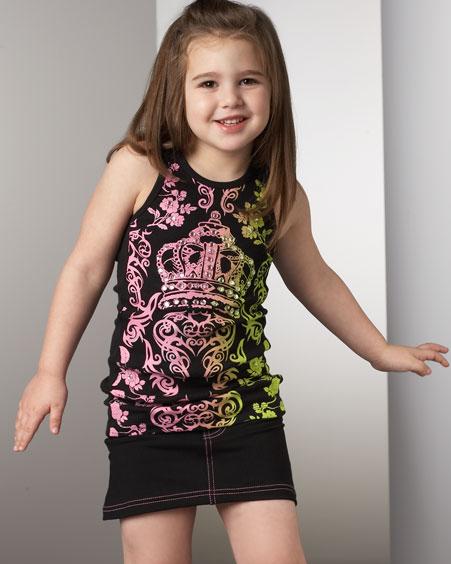 ازياء اطفال للبنات 2012 ملابس