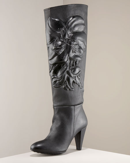 Maloles Orchid High-Heel Boot