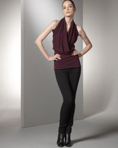 -26QJ Vince Wrap Top & Ski Pants