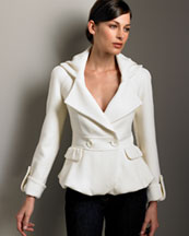 Double-Face Wool Jacket -  Neiman Marcus