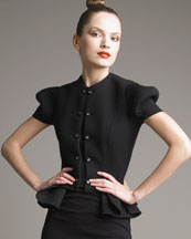 Yves Saint Laurent Sculptured Shoulder Jacket