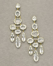 Spring 2 Drop Earrings -  Neiman Marcus :  spring 2 collection rock crystals crystal earrings