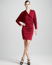 Long Sleeve Bandage Dress on Herve Leger Long Sleeve Bandage Dress  Navy   Neiman Marcus