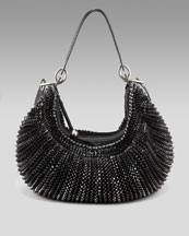 Diane von Furstenberg-Stephanie Slouchy Hobo, Medium-Neiman Marcus :  black diane von furstenberg bag stephanie