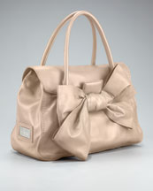 Valentino - Mia Bow Satchel  :  bow leather valentino mia