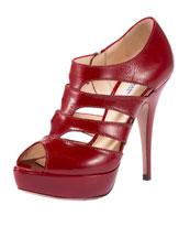 X0CA9 Prada Cut-out Shoe Bootie