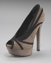 Fab Everyday fashion: Fendi Jardin Suede Platform Pump