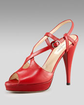 X0DXF Valentino Keyhole Sandal