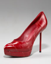 Fab Everyday fashion: Yves Saint Laurent Eelskin Pump