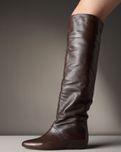 X0FFW Pour la Victoire Over-the-Knee Wedge Boot