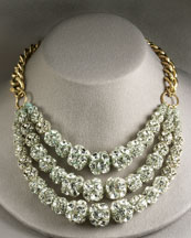 Multistrand Crystal Ball Necklace -  Neiman Marcus